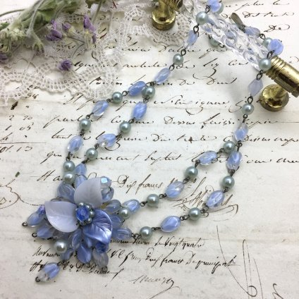 German Glass Necklace (ドイツ ガラス ネックレス)