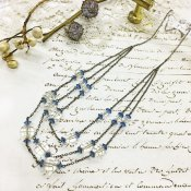 1920's Crystal Glass Necklace(1920年代 クリスタルガラス ネックレス)