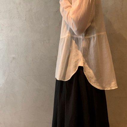suzuki takayuki shrunk shirt(スズキタカユキ シュランク シャツ)Ecru