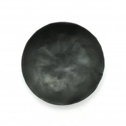 MAD et LEN Monachia Plain Black Plate(マドエレン ブラック プレート)