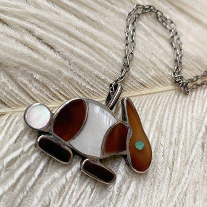 Inlay Rabbit Fob Necklace(インレイラビット フォブネックレス)
