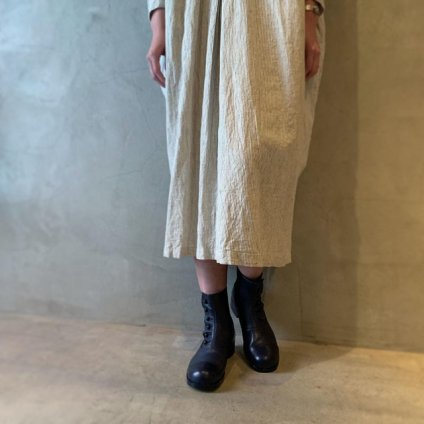 <img class='new_mark_img1' src='https://img.shop-pro.jp/img/new/icons20.gif' style='border:none;display:inline;margin:0px;padding:0px;width:auto;' />【20%OFF】BEAUTIFUL SHOES Buttoned Sidegore Boots(ビューティフルシューズ ボタンドサイドゴアブーツ)Dark Navy