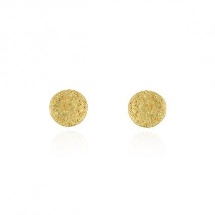 momocreatura Moon Disc Earrings Gold(モモクリアチュラ ムーンピアス ゴールド)