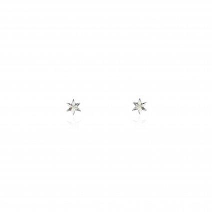 momocreatura Micro Star Studs Earrings Silver(モモクリアチュラ マイクロスターピアス シルバー)