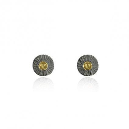 momocreatura Sun Disc Earrings(モモクリアチュラ 太陽ピアス)