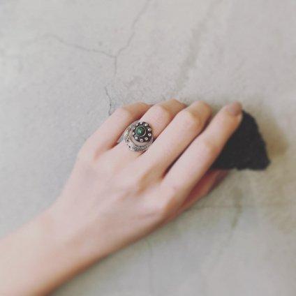 momocreatura Crescent Moon Ring Silver(モモクリアチュラ 三日月リング 燻しシルバー)