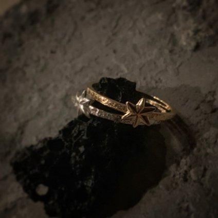 momocreatura Mini Star Ring Silver(モモクリアチュラ ミニ スターリング 燻しシルバー)