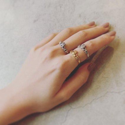 momocreatura Claddagh Ring Gold Emerald(クラダリング ゴールド エメラルド)