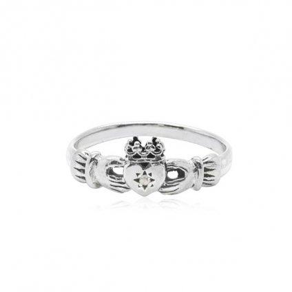 momocreatura Claddagh Ring Silver Diamond(クラダリング シルバー ダイヤモンド)