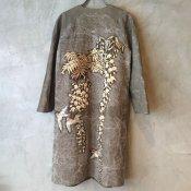 VINCENT JALBERT  Coat - Embroideris - (ヴィンセント ジャルベール 刺繍コート ) Khaki