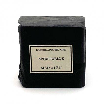 MAD et LEN Black Block Mini CANDLE(マドエレン  ブラック ブロックミニキャンドル)