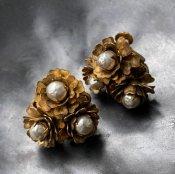 MIRIAM HASKELL Flower Earring(ミリアムハスケル フラワーイヤリング)