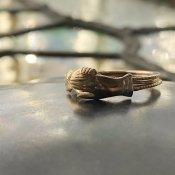 1940's 9K Gimmel Fede Ring(1940年代 9K ギメル フェデリング)