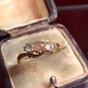 1892年 9K Sapphiret Ring(1892年 9K サフィレット リング)