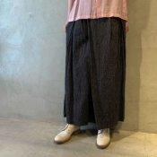 suzuki takayuki wrapped pants �(スズキタカユキ ラップドパンツ �)Black Stripe/Unisex