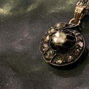 Victorian Gold Dutch Rose Cut Diamond Necklace(ヴィクトリアン ゴールド  ダッチローズカット ダイヤモンド ネックレス)