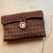 <img class='new_mark_img1' src='https://img.shop-pro.jp/img/new/icons22.gif' style='border:none;display:inline;margin:0px;padding:0px;width:auto;' />1940's Cord Clutch Bag(1940年代 コードクラッチバッグ)