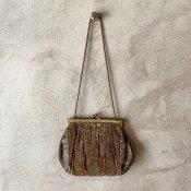 1940's  Velvet Lace Bag(1940年代 ベルベット レース バッグ)