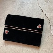 <img class='new_mark_img1' src='https://img.shop-pro.jp/img/new/icons22.gif' style='border:none;display:inline;margin:0px;padding:0px;width:auto;' />1920's Velvet Clutch Bag(1920年代 ベルベット クラッチバッグ)