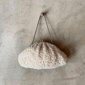 1960's Beads×Spangles Embroidery Bag(1960年代 ビーズ×スパンコール 刺繍バッグ)