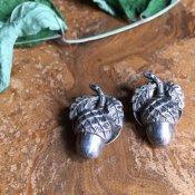 1920's Silver Antique earrings (1920年代 シルバー アンティーク イヤリング)