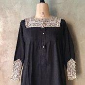 1900~10's Cutwork Lace Collar&Cuff(1900〜10年代 カットワークレース つけ襟&つけ袖)