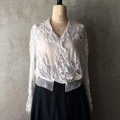 1890~1910's Crocheted lace Blouse(1890〜1910年代 クロッシェレースブラウス)