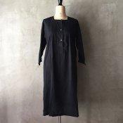 1910~30's Cutwork Lace Cotton Dress(1910〜30年代 カットワークレース コットンワンピース)後染め