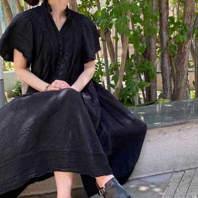 【予約販売】HALLELUJAH 6, Robe 1900(ハレルヤ ローブ 1900)Black