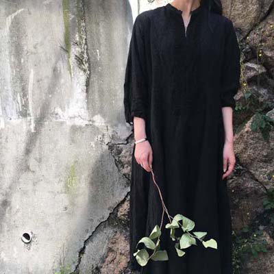 HALLELUJAH 11, Robe de une religieuse(ハレルヤ 修道女のローブ)Black