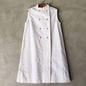 Vintage Stand Collar Children's Dress(ヴィンテージ スタンドカラー 子ども用ワンピース)