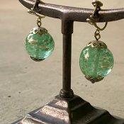 1920~40's Glass Earrings(1920〜40年代  ガラスイヤリング)