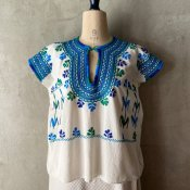 1970's Mexican Embroidery Blouse(1970年代 メキシコ 刺繍ブラウス)