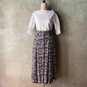 Vintage Flower Pattern Skirt(ヴィンテージ 花柄スカート)