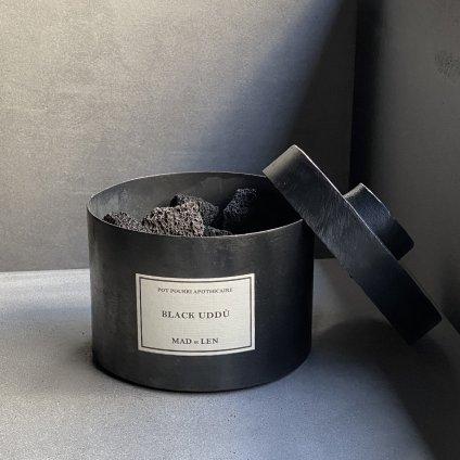 MAD et LEN Pot Pourri d'Apothicaire BLACK LAVA ROCK BLACK UDDU(マドエレン ポプリ ブラック ラヴァロック ブラックウドゥー )