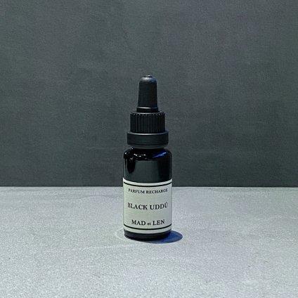 MAD et LEN Pot Pourri Recharger BLACK UDDU 15ml(マドエレン ポプリ リチャージャー ブラックウドゥー 15ml)