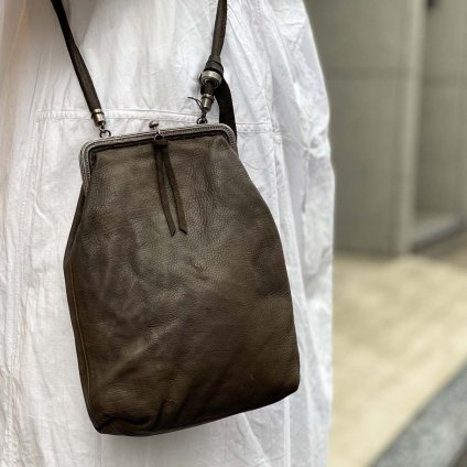 CHRISTIAN PEAU CP S/F SQUARE BAG(クリスチャン ポー スクエアバッグ) DARK BROWN