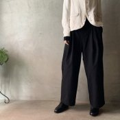suzuki takayuki easy pants(スズキタカユキ イージーパンツ)Black/Unisex