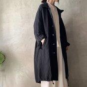 suzuki takayuki military coat(スズキタカユキ ミリタリーコート)Black/Unisex
