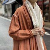ikkuna/suzuki takayuki robe coat(イクナスズキタカユキ ローブーコート)Autumn leaf