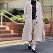 ikkuna/suzuki takayuki shawl collar coat(イクナスズキタカユキ ショールカラーコート)Nude