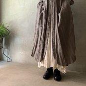 suzuki takayuki long skirt(スズキタカユキ ロングスカート)Nude