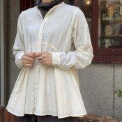 ikkuna/suzuki takayuki flared blouse(スズキタカユキ フレアードブラウス)Nude