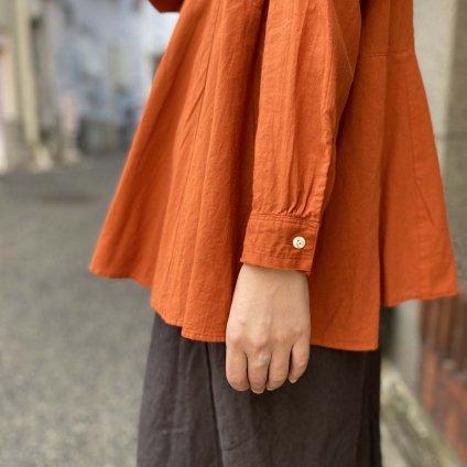 <img class='new_mark_img1' src='https://img.shop-pro.jp/img/new/icons20.gif' style='border:none;display:inline;margin:0px;padding:0px;width:auto;' />【20%OFF】ikkuna/suzuki takayuki flared blouse(スズキタカユキ フレアードブラウス)Autumn Leaf