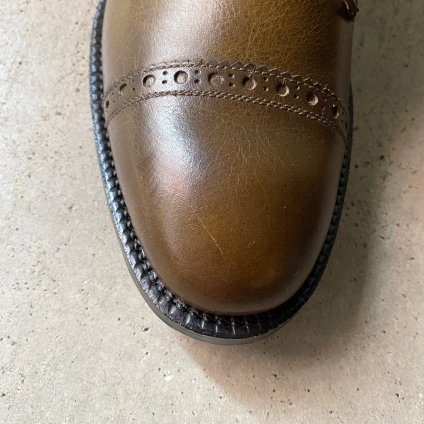 SONOMITSU Buttoned Shoes(ソノミツ ボタンシューズ) Green