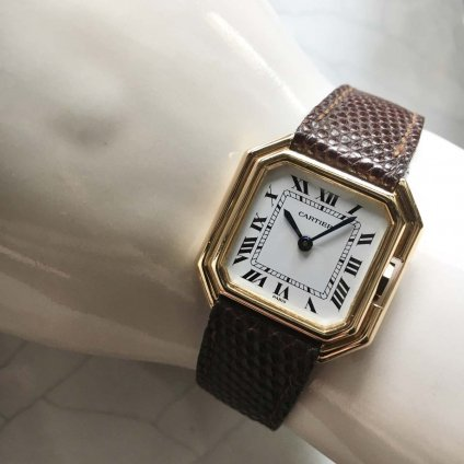 Cartier CEINTURE(カルティエ サンチュール)18KYG 金無垢