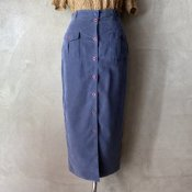 Vintage Front Button Tight Skirt(ヴィンテージ 前ボタン タイトスカート)