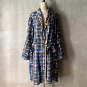 Vintage Plaid Gown(ヴィンテージ チェック柄 ガウン)
