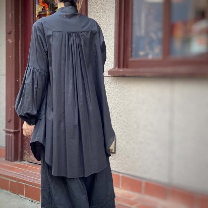 HALLELUJAH 8, Chemise Religieuse(ハレルヤ 修道女シャツ)Black