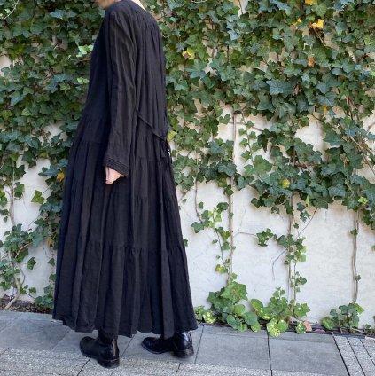 HALLELUJAH 2, Robe Etaee(ハレルヤ ティアードローブ)Black